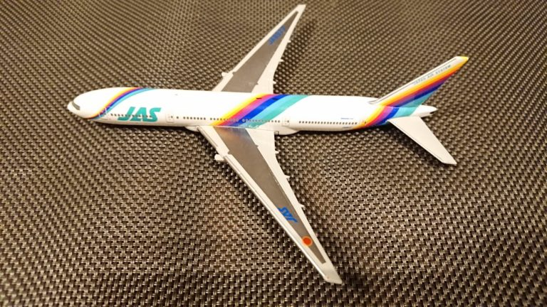 ディアゴスティーニJAL旅客機コレクションNo.3