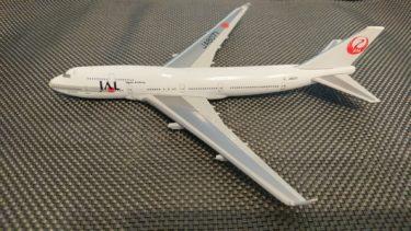 【JAL】デアゴスティーニ JAL旅客機コレクションNo.4 B747-400 定期購読感想・レビュー