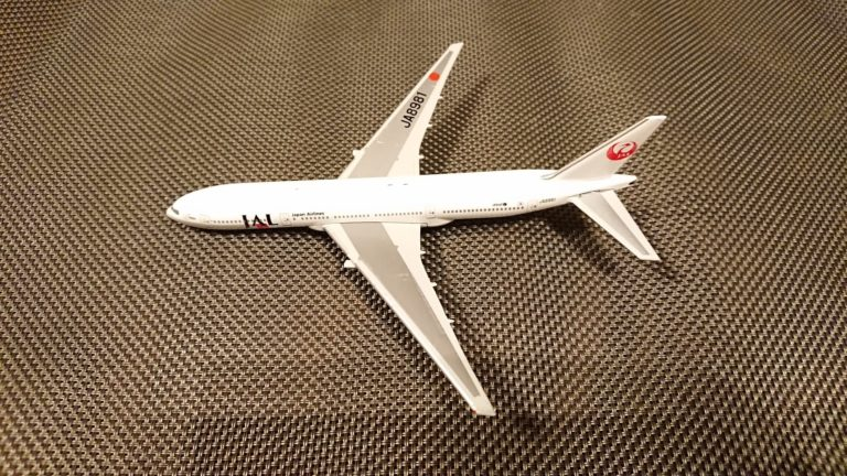 JAL旅客機コレクションNo.7 B777-200レビュー